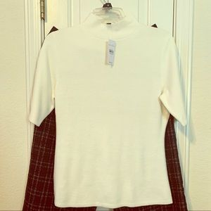 Ann Taylor Mock Turtleneck Sweater